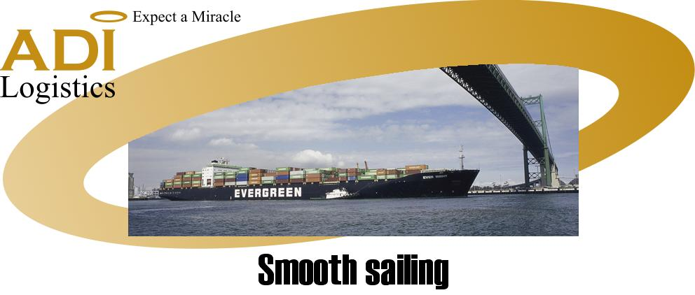 Smooth sailing!