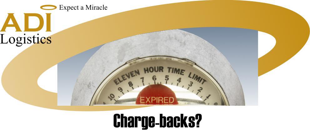Charge-backs?